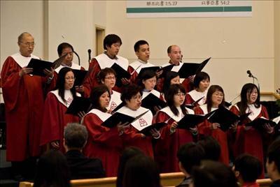 基督欢聚一堂歌谱- 记圣路易华人基督教会蔡炎康传道按牧典礼